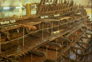 The hull of the Mary Rose (2). Copyright the Mary Rose Trust. Copyright the Mary Rose Trust. Copyright the Mary Rose Trust